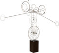 Sculpture, Joseph A. Burlini (American, b. 1937). Untitled, 1973. Steel . 36 inches (91.4 cm) high on a 10 inches (25.4 cm) high ba...