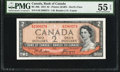 Canadian Currency: , BC-30b $2 1954 Devil's Face PMG About Uncir...