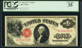 Large Size:Legal Tender Notes, Fr. 39 $1 1917 Legal Tender Mule PCGS Very Fine 35.. ...