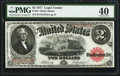 Large Size:Legal Tender Notes, Fr. 58 $2 1917 Legal Tender PMG Extremely Fine 40.. ...