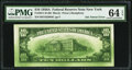 Error Notes:Ink Smears, Ink Smear Error Fr. 2011-B $10 1950A Federal Reserve Note. PMGChoice Uncirculated 64 EPQ.. ...
