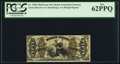 Fractional Currency:Third Issue, Fr. 1358 50¢ Third Issue Justice PCGS New 62PPQ.. ...
