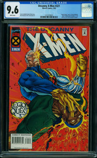 X-Men #321 (Marvel) CGC NM+ 9.6 WHITE pages