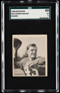 Football Cards:Singles (Pre-1950), 1948 Bowman Sammy Baugh #22 SGC 60 EX 5....