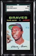 Baseball Cards:Singles (1970-Now), 1971 Topps Hank Aaron #400 SGC 88 NM/MT 8....