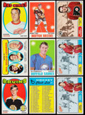 Hockey Cards:Lots, 1968 Through 1971 Topps Hockey Collection (200+). ...