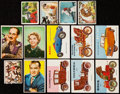 Non-Sport Cards:Lots, 1950 Through 1954 Non-Sport Collection (250+). ...