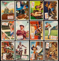 Non-Sport Cards:Sets, 1954 Topps Scoops Partial Set (99/156). ...