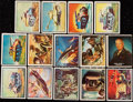 Non-Sport Cards:Sets, 1950 Freedom's War Near Set (188/203) including all 6 Tank Cards....