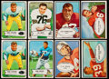 Football Cards:Lots, 1953 and 1954 Bowman Football Collection (56). ...