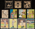 Baseball Cards:Lots, 1940 Through 1950 Drakes, M.P. and Co., Play Ball, Swell Baseball Collection (24)....