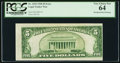 Error Notes:Miscellaneous Errors, Misaligned Back Printing Error Fr. 1525 $5 1928 Legal Tender Note. PCGS Very Choice New 64.. ...