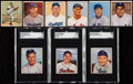 Baseball Cards:Lots, 1949-50 Bowman Baseball Collection (148). ...