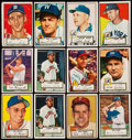 Baseball Cards:Lots, 1952 Topps Baseball Low and Mid Series Collection (86). ...