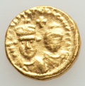Ancients:Byzantine, Ancients: Heraclius (AD 610-641) & Heraclius Constantine (AD613-641). AV solidus (4.46 gm). About XF....