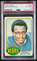 Football Cards:Singles (1970-Now), 1976 Topps Walter Payton #148 PSA EX-MT 6....