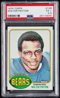 Football Cards:Singles (1970-Now), 1976 Topps Walter Payton #148 PSA EX+ 5.5....
