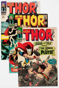 Silver Age (1956-1969):Superhero, Thor Group of 4 (Marvel, 1966) Condition: Average VF.... (Total: 4 Comic Books)