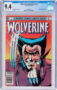 Wolverine #1 (Marvel, 1982) CGC NM 9.4 Off-white to white pages