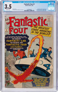 Silver Age (1956-1969):Superhero, Fantastic Four #3 (Marvel, 1962) CGC VG- 3.5 Off-white pages....
