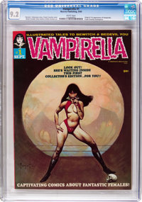 Vampirella #1 (Warren, 1969) CGC NM- 9.2 White pages