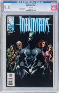 Modern Age (1980-Present):Superhero, The Inhumans V2#1 (Marvel, 1998) CGC NM/MT 9.8 White pages....