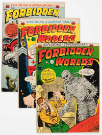 Forbidden Worlds - Pre-Code Issues Group of 22 (ACG, 1952-63) Condition: Average FN.... (Total: 22 Comic Books)