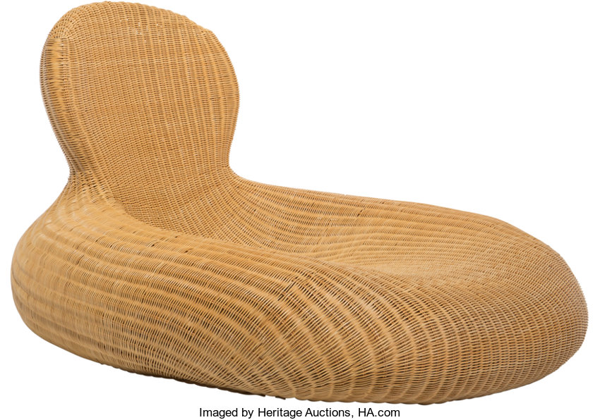 Furniture Continental A Carl Ojerstam For Ikea Rattan Storvik Lounge Chair Designed 2001