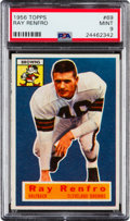Football Cards:Singles (1950-1959), 1956 Topps Ray Renfro #69 PSA Mint 9 - Pop One, None Higher! ...