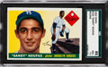 Baseball Cards:Singles (1950-1959), 1955 Topps Sandy Koufax #123 SGC 86 NM+ 7.5....
