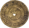 "Political:Inaugural (1789-present), George Washington: ""Dotted Script"" Inaugural Button...."