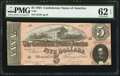 Confederate Notes:1864 Issues, T69 $5 1864 PF-3 Cr. 559.. ...