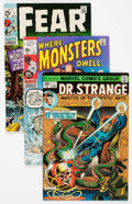 Bronze Age (1970-1979):Horror, Marvel Bronze Age Horror/Fantasy Comics Group of 4 (Marvel, 1970s)Condition: Average VF-.... (Total: 4 Comic Books)