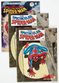 Magazines:Superhero, Spectacular Spider-Man #1 and 2 Group (Marvel, 1968) Condition: Average FN+.... (Total: 4 Comic Books)