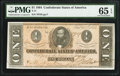 Confederate Notes:1864 Issues, T71 $1 1864 PF-11 .. ...