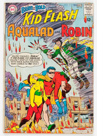 The Brave and the Bold #54 Kid Flash, Aqualad, and Robin (DC, 1964) Condition: GD/VG