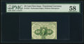 Fractional Currency:First Issue, Fr. 1241 10¢ First Issue PMG Choice About Unc 58.. ...