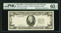 Error Notes:Missing Third Printing, Missing Third Printing Error Fr. 2076-G $20 1988A Federal Reserve Note. PMG Gem Uncirculated 65 EPQ.. ...
