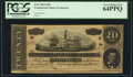 Confederate Notes:1864 Issues, T67 $20 1864 PF-12 Cr. 512.. ...