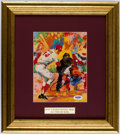 Autographs:Others, Pete Rose Signed LeRoy Neiman Print.. ...