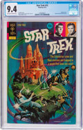 Bronze Age (1970-1979):Science Fiction, Star Trek #15 (Gold Key, 1972) CGC NM 9.4 Off-white to white pages....