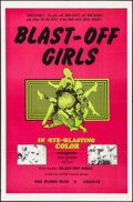 "Movie Posters:Action, Blast-Off Girls (Creative Film Enterprises, 1967). One Sheet (27"" X41""). Action.. ..."