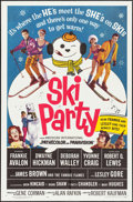 """Movie Posters:Comedy, Ski Party (American International, 1965). One Sheet (27"""" X 41"""").Comedy.. ..."""