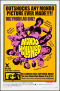 "Movie Posters:Exploitation, Mondo Hollywood (Emerson Film Enterprises, 1967). One Sheet (27"" X41""). Exploitation.. ..."