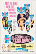 "Movie Posters:Comedy, Dr. Goldfoot and the Girl Bombs (American International, 1966). OneSheet (27"" X 41""). Comedy.. ..."