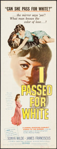 "Movie Posters:Exploitation, I Passed for White (Allied Artists, 1960). Insert (14"" X 36"").Exploitation.. ..."
