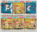 Basketball Cards:Unopened Packs/Display Boxes, 1968 Transogram Baseball Collection of Cards, Statues and Complete Boxes (Lot of 6).. ...