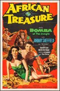"Movie Posters:Adventure, African Treasure (Monogram, 1952). One Sheet (27"" X 41"").Adventure.. ..."
