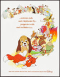 "Movie Posters:Animation, The Fox and the Hound (Buena Vista, 1981). Mini Poster (17"" X 22.25"") Advance. Animation.. ..."