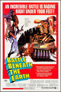 "Movie Posters:Science Fiction, Battle Beneath the Earth (MGM, 1968). One Sheet (27"" X 41"").Science Fiction.. ..."